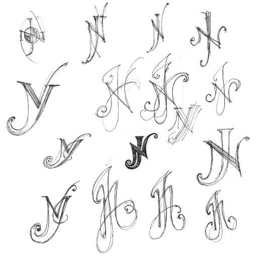 Resultado de imagem para monogram jcm