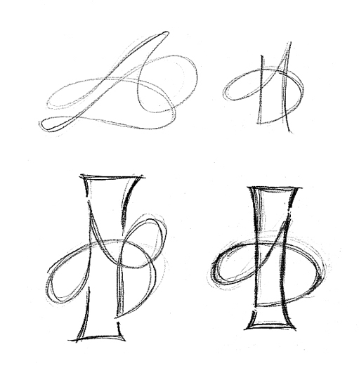 28 tattoo designs letters intertwined best initial